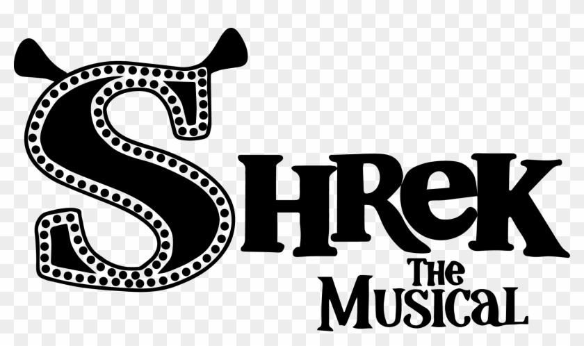 Shrek Clipart Logo Shrek The Musical Jr Logo Black And White Png Download 51089 Pikpng