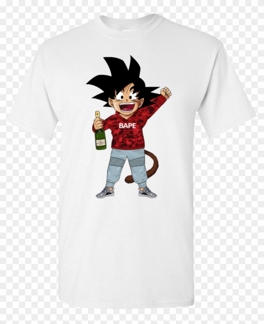 goku bape shirt