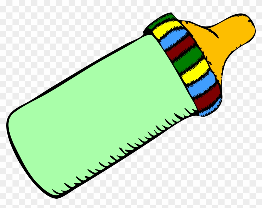 Clip Art Freeuse Download Bottles Infant Pacifier Clip - Baby Bottle Clip Art, HD Png Download #51822