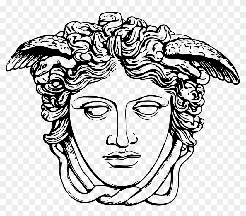Medusa Head At Getdrawings Com Free For Medusa Mitologia Griega Dibujo Clipart 54230 Pikpng
