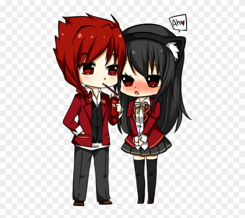 Free Png Download Chibi Boy And Girl Holding Hands Anime Chibi