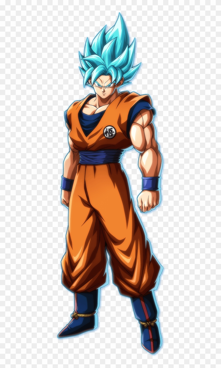 Http - //dba - Bn Ent - Ssgss/portrait - Dragon Ball Fighter Z Goku Ssgss Clipart #55423