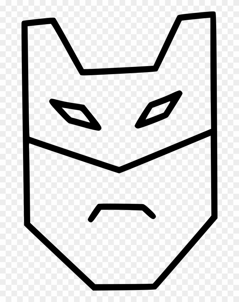 Batman Mask Superhero Hero Comics Character Comments Clipart #56063