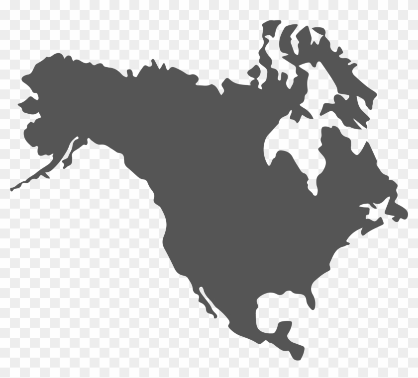 Us And Canada Map Png Clipart 57113 Pikpng
