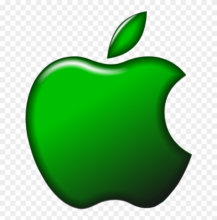 Download Apple Tech Company Logo Png Transparent Images - Green Apple Logo Png Clipart #57114