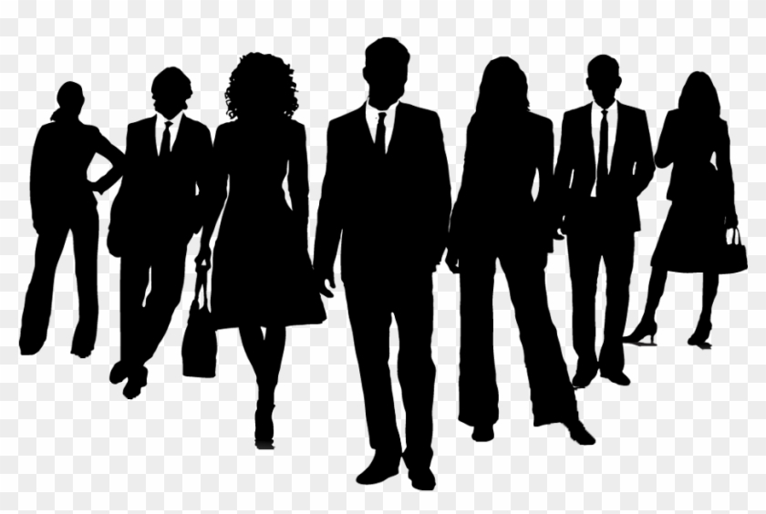Group Of Business People Silhouette , Png Download - Business People Clipart, Transparent Png #57977