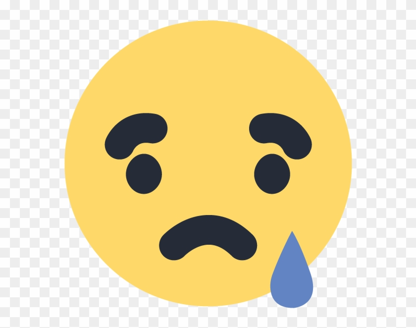 The Best Free Sad Vector Images Download From 50 Free - Sad Facebook Emoji Png Clipart #59891