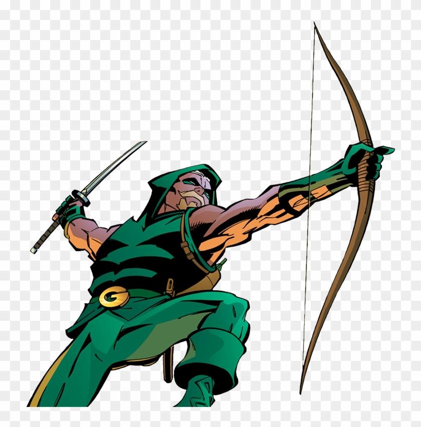 View Samegoogleiqdbsaucenao Green Arrow , - Green Arrow Dc Comics Png Clipart #500075