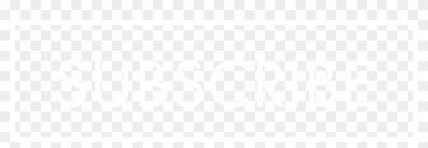White Subscribe Png - Black And White Subscribe Png Clipart #502318