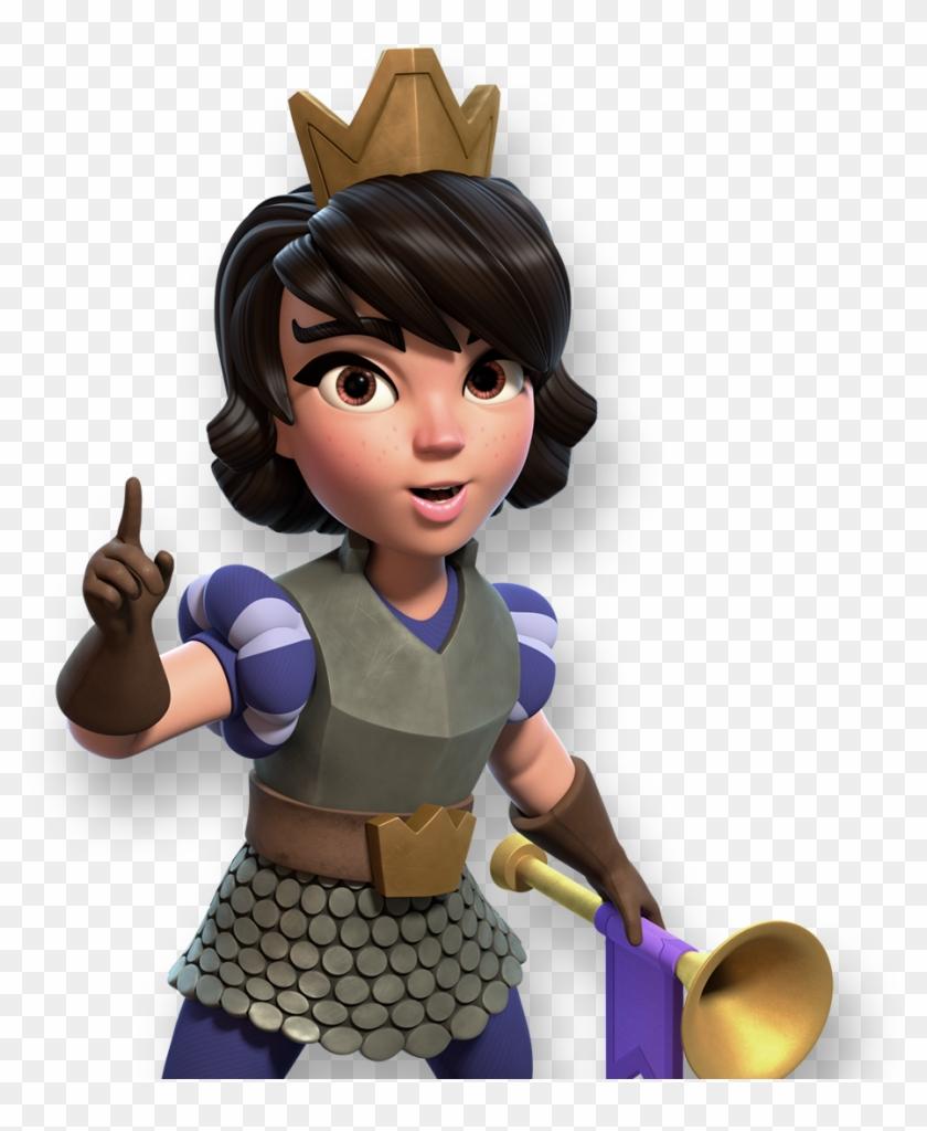 Princess Clash Royale Png - Princesa Clash Royale Png Clipart #502807
