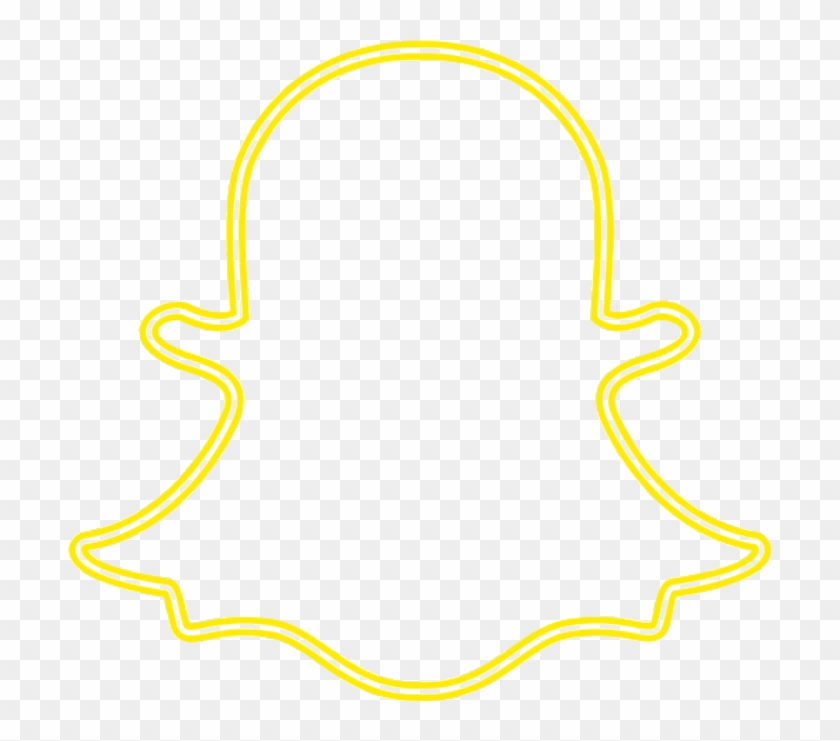 Snapchat Logo Png - Neon Snapchat Logo Png Clipart@pikpng.com