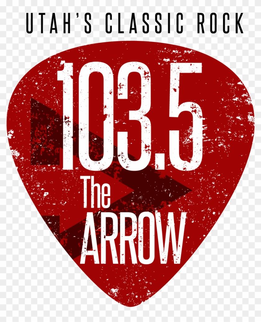 5 The Arrow - 103.5 The Arrow Clipart #503876
