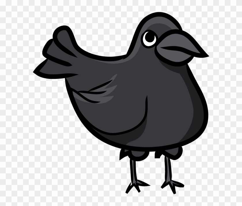 Crow - Crow Thinking Clipart Png Transparent Png #505682