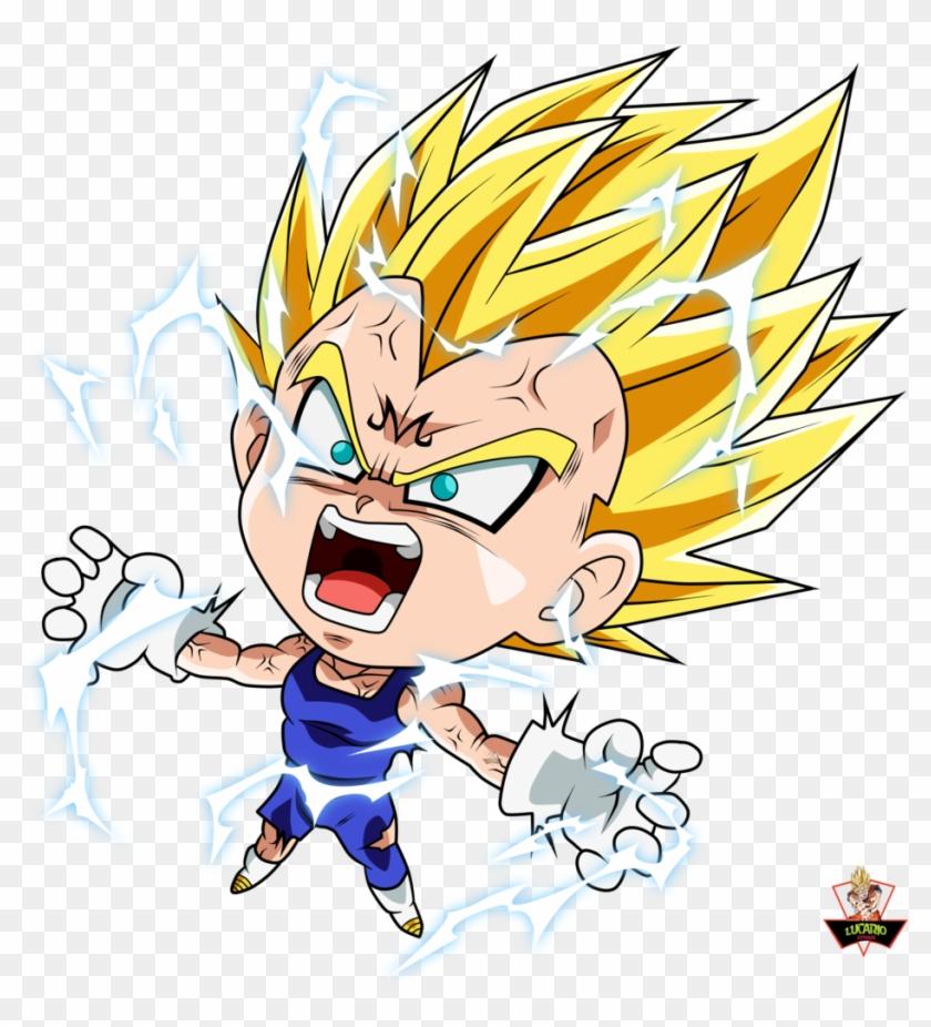 Clip Free Download Vegeta Majin Buu Goku Transprent - Dragon Ball Chibi Majin Vegeta - Png Download #505812