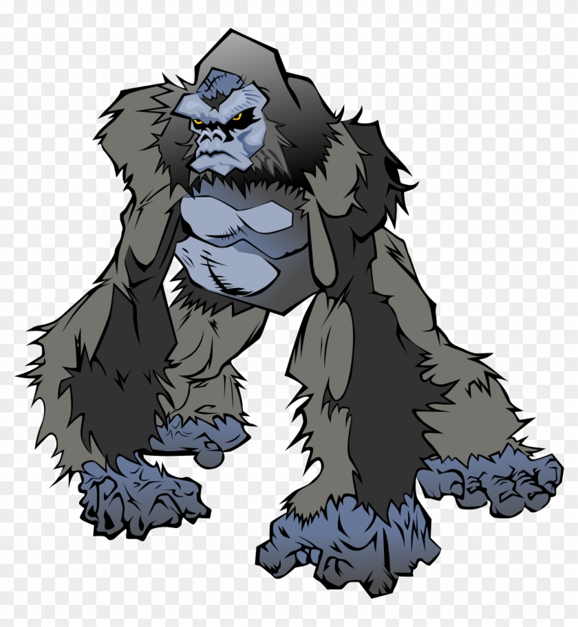 Gorilla Png - Animated Angry Gorilla Png Clipart@pikpng.com