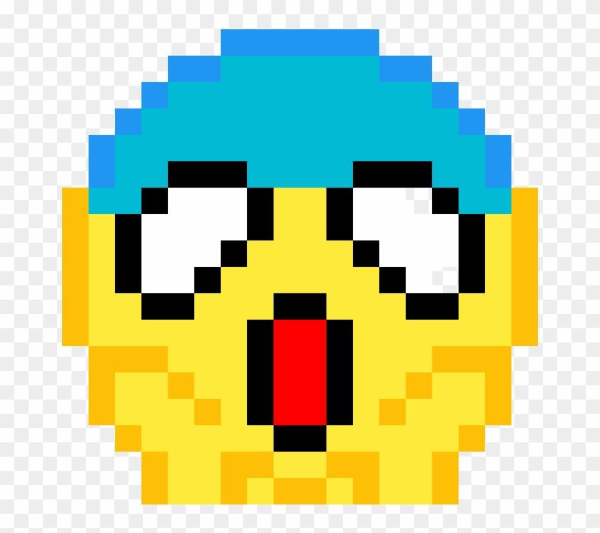 Pixel Art Emoji , Png Download - Pixel Art Emoji Clipart #506992