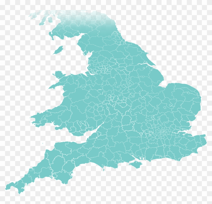 England & Wales - England Land Use Map Clipart #5010031