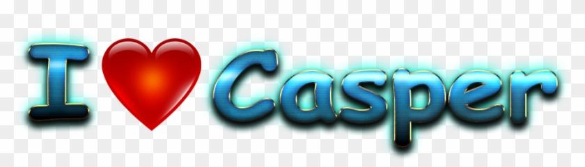 Casper Love Name Heart Design Png - Heart Clipart #5013952