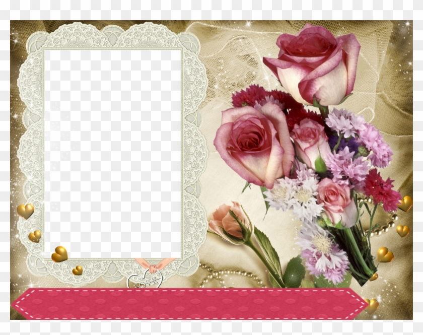 Site De Montagem De Fotos Online Romantico Montagem Molduras Para Fotos Gratis Clipart 5025708 Pikpng