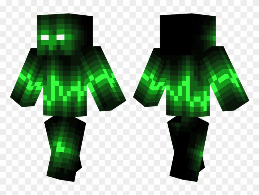 Green Wave - Minecraft Skins Cool Green Clipart #5031822