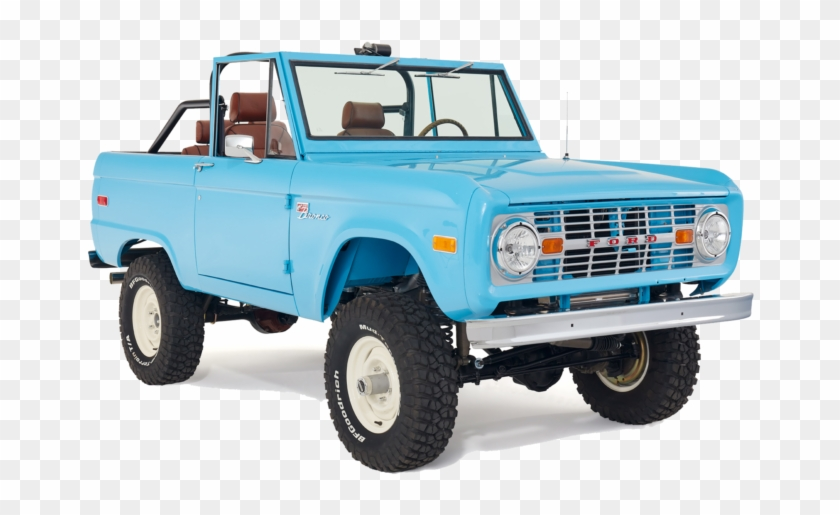 Classic Ford Broncos The Leader In 1966-1977 Early - Off-road Vehicle Clipart #5037282