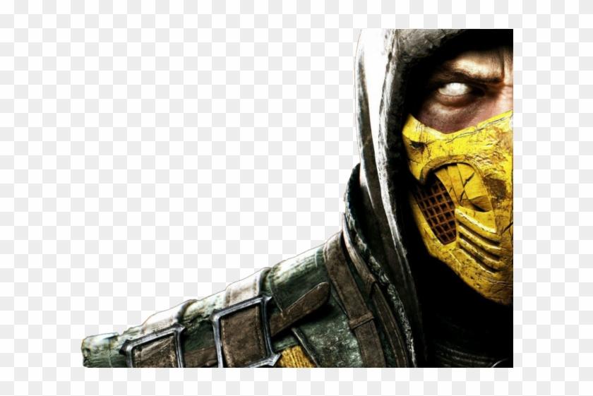 Mortal Kombat X Clipart Scorpion Mortal Kombat Scorpion Png