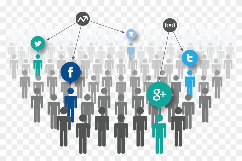 Social Media Marketing - Social Media Engagement Transparent Clipart #5048904