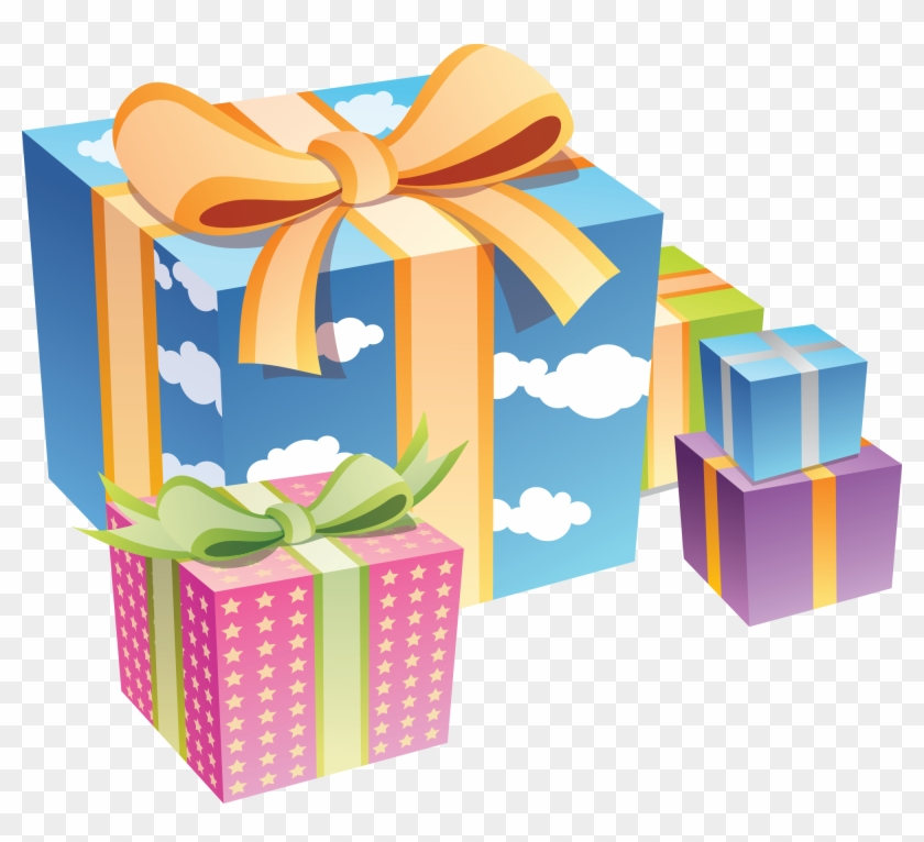 Gift Vector Png Birthday Gift Box Png Clipart 5058530 Pikpng