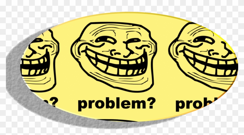 Funny Troll Face Clipart #5059446