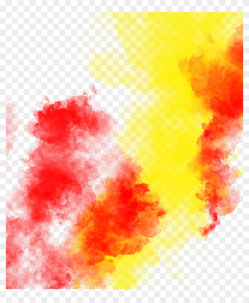 Color Splash - Color Smoke Png Clipart #5059882