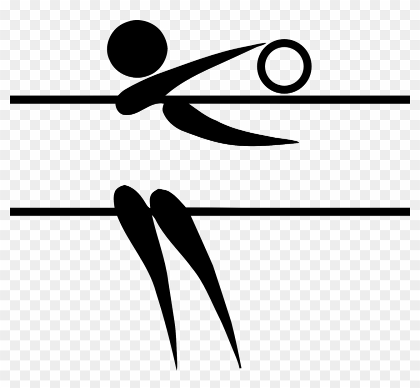 Clip Art Volleyball Clipart Png - Volleyball Clipart Png, Transparent Png ,  Transparent Png Image - PNGitem