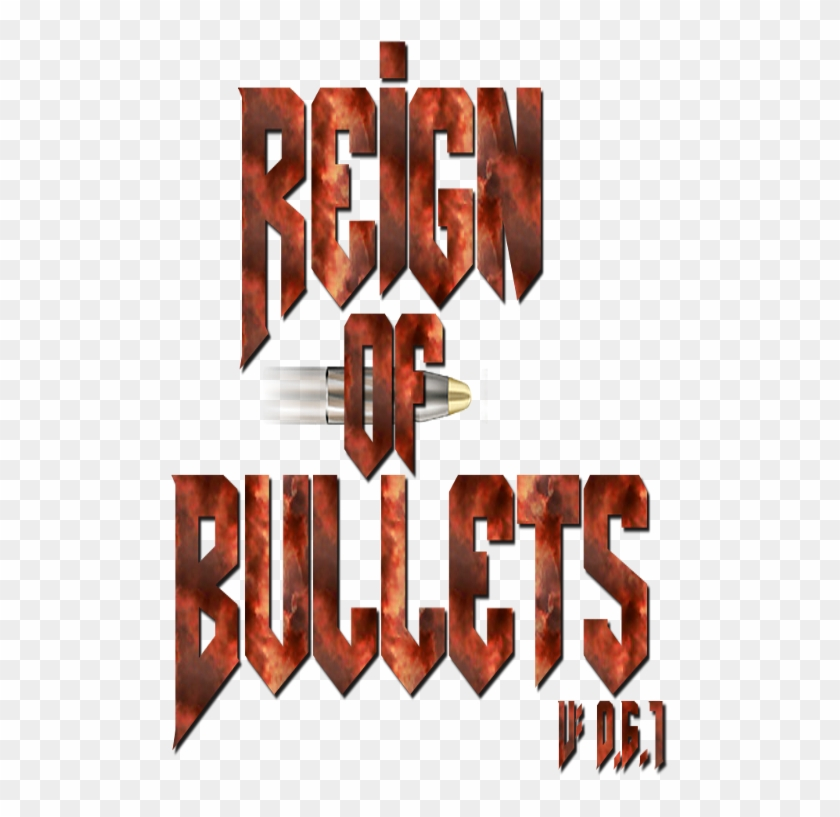 Reign Of Bullets Alpha - Graphic Design Clipart #5064277