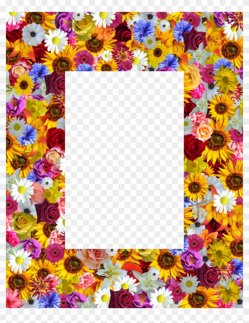This Free Icons Png Design Of Floral Frame 21 Picture Frame
