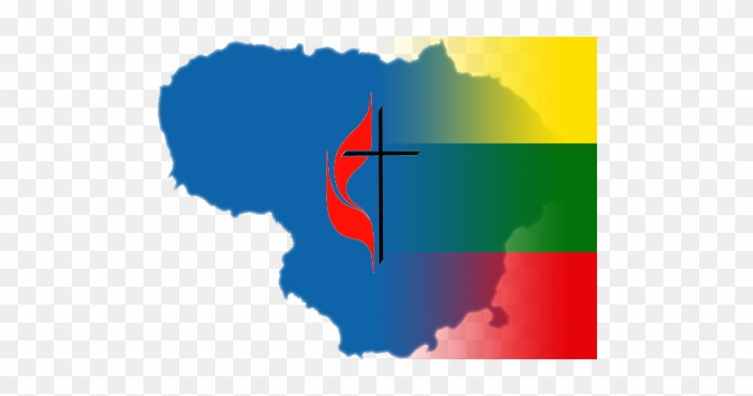 The History Of Methodism In Lithuania Is Very Much - Lithuania Map Icon Clipart #5080705