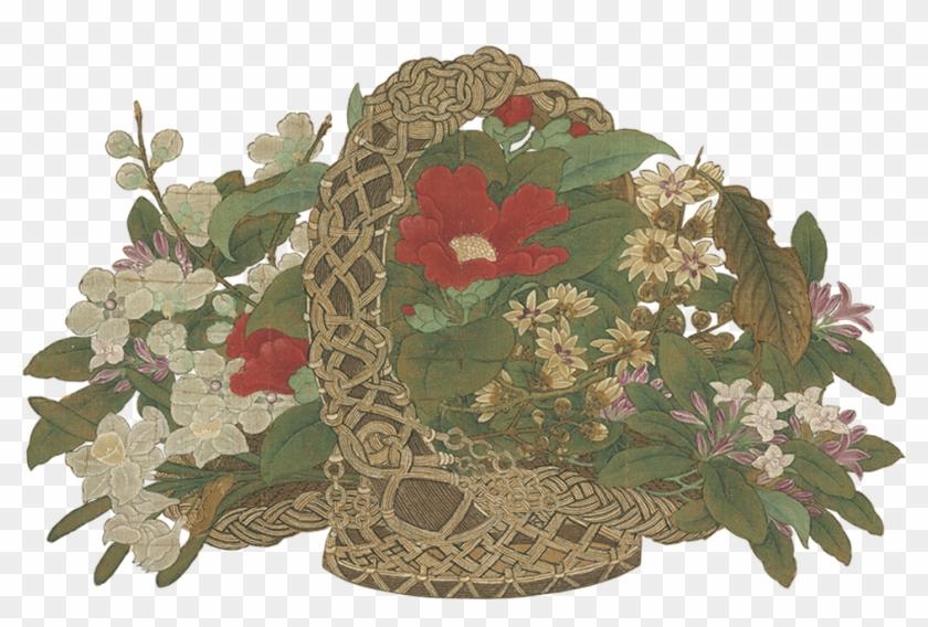 Flowers In Vases - Song Dynasty Flower Arrangements Clipart #5089905