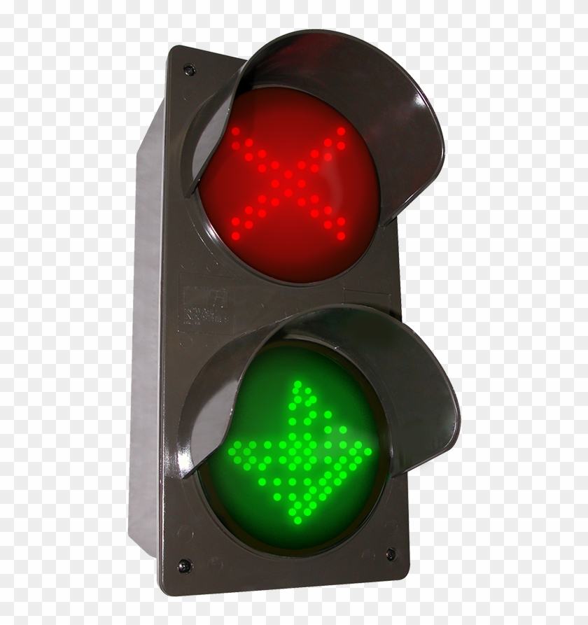 Led Traffic Controller X - Traffic Control Lights Png Clipart #5091369