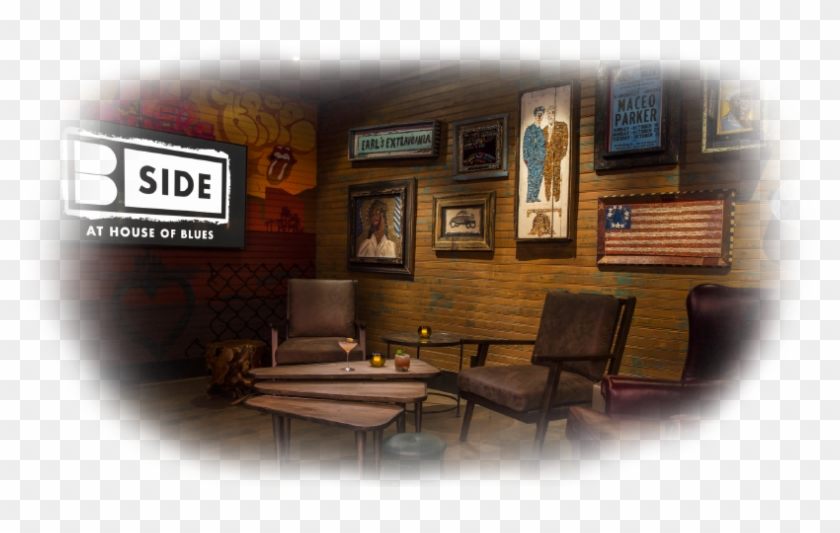 A New Culinary & Sound Concept B Side At House Of Blues - B Side House Of Blues Clipart #5092767