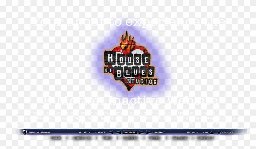 The House Of Blues Studios Competitors, Revenue And - House Of Blues Clipart #5092921