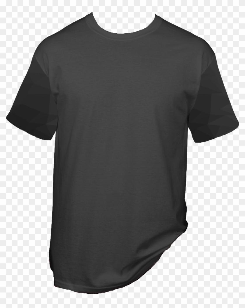 Gray Shirt Arm Vector - Active Shirt Clipart #5095752