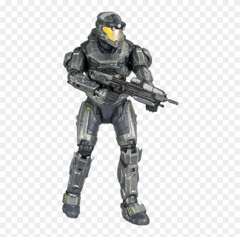 "5"" Spartan Operator Exclusive Action Figure - Halo Reach Spartan Operator Clipart #5096682"