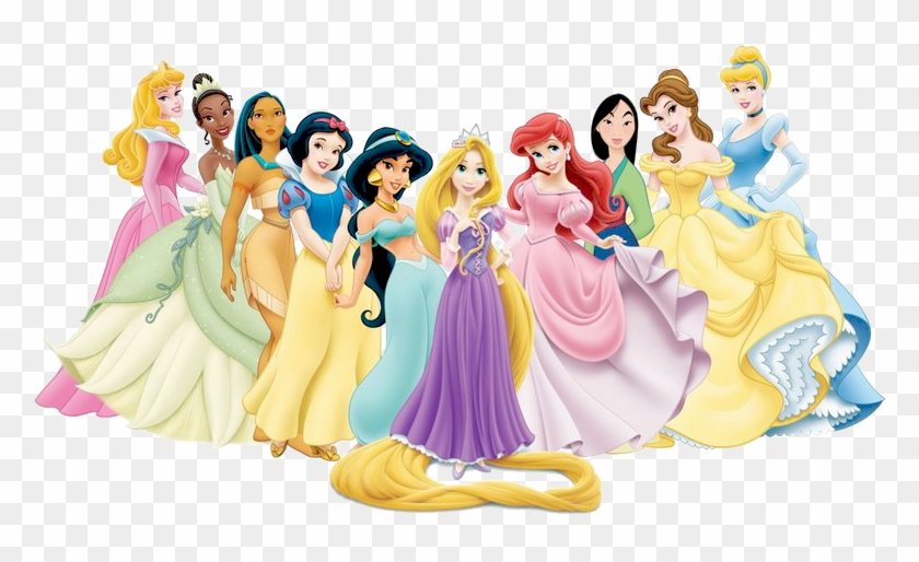Disney Princesses Clipart Fairy Tales Characters For Girls Png