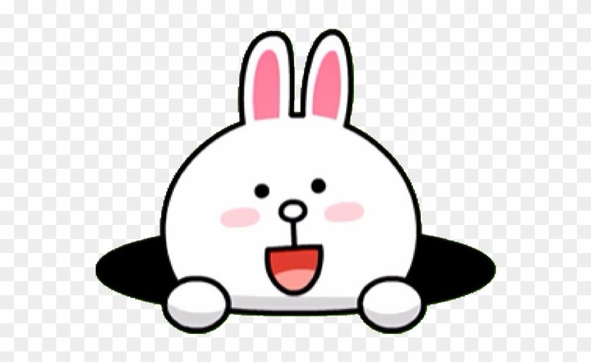 Line Rabbit Png Clipart #512446