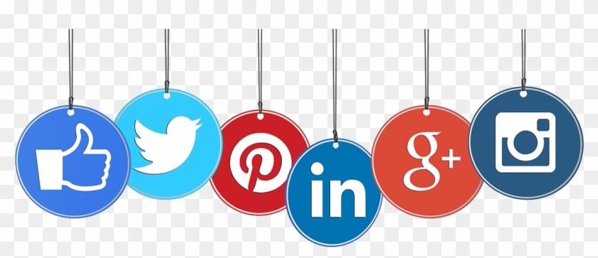Social Media Logos Searchvista - Social Media Transparent Icon Clipart #513313