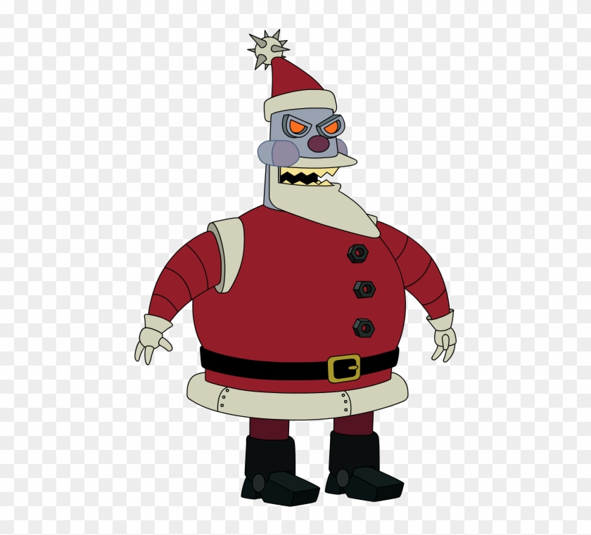 Santa Claus De Futurama Clipart #513914