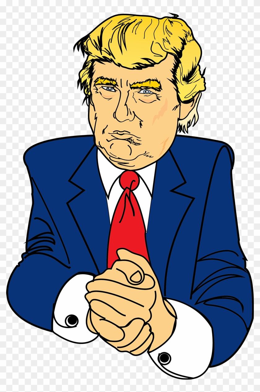 Donald Trump Png Clipart #515886