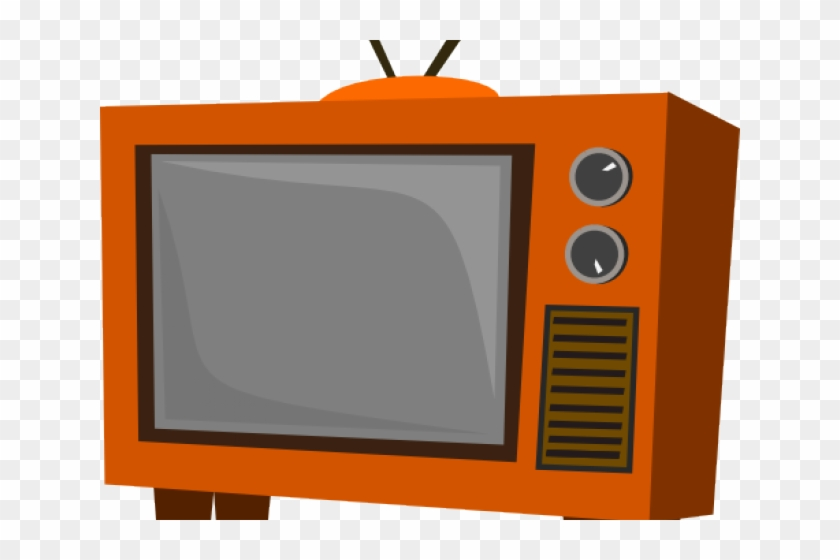 Old Tv Cliparts - Old Tv - Png Download #515962