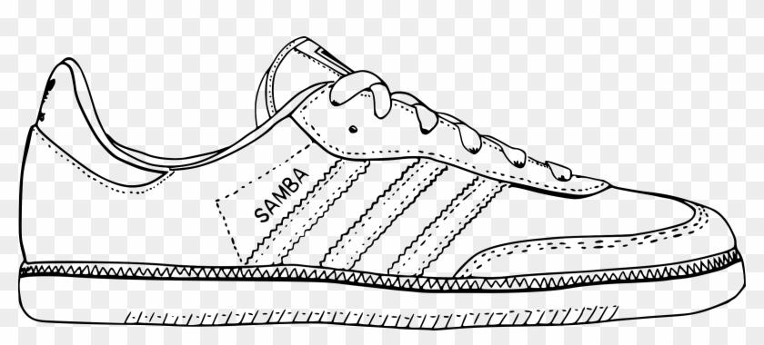 Adidas Shoes Clipart Vector - Sepatu