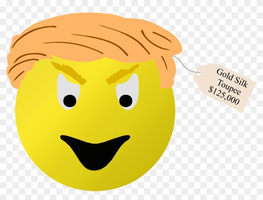 Donald Trump Smiley Face - Trump Smiley Face Clipart #516139