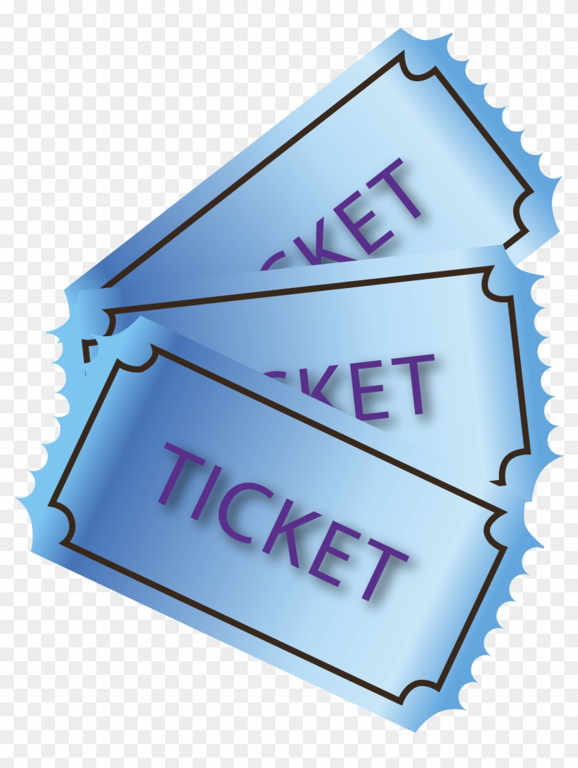 Posted On March 23, 2018 Posted By - Tickets Clipart Transparent Background - Png Download #519226
