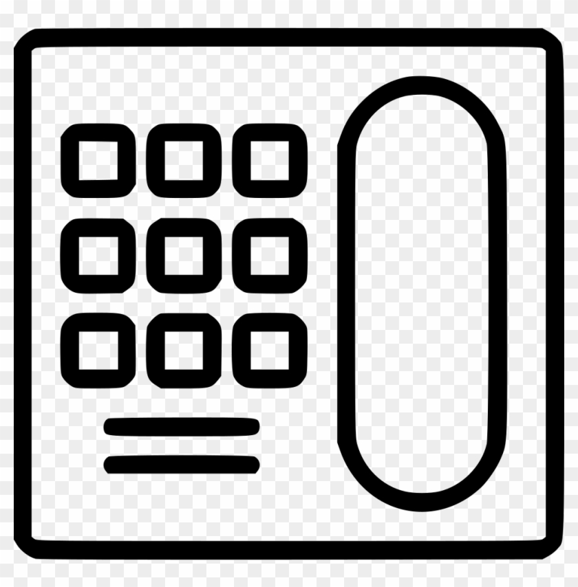Old Phone Fixed Telephone Comments Clipart #5106079